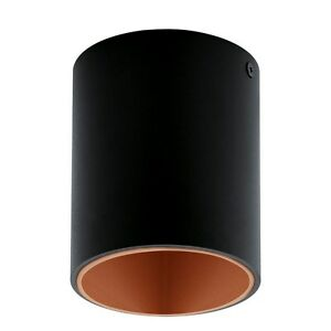 Spotlight Ceiling LED 3,3w Modern Round Black And Copper Coll. Glo 94501 Polasso