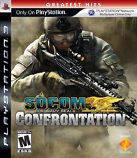 PS3 ACTION-SOCOM:CONFRONTATION (NO HEADSET)(M)(ONLINE ONLY)-NLA PS3 NEW