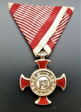 Austria - Hungary -  Merit cross - Guilt silver