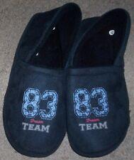 Chaussons pantouffles 83 dream team bleu marine taille pointure 45