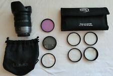 Panasonic Lumix G VARIO 14-140mm F3.5-5.6 ASPH POWER O.I.S. H-FS14140 & lens set
