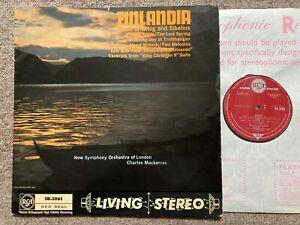 RCA SB-2063 LIVING STEREO ED1- Finlandia-Grieg and Sibelius Mackerras,,NM