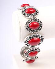 Unbranded Silver Bracelet Vintage Costume Jewellery (1960s)