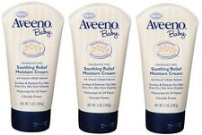 Aveeno Baby Soothing Relief Moisture Cream 5Oz (Pack of 3)