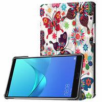 Custodia Per Huawei Mediapad M5 8.4 Pollici + Pennino Book Cover Protezione Slim