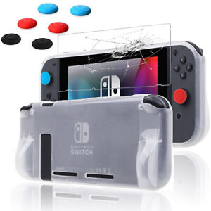 Accessories Carrying Bag+TPU Case+Tempered Glass+Joy-Con Cap For Nintendo Switch