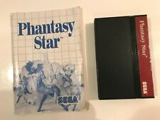 Sega Master System PHANTASY STAR, Spiel + Anleitung 100% original