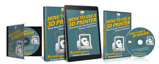How To Use a 3D Printer(Ebook + Audio + Online Video Course) - HowExpert