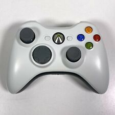 Microsoft Xbox 360 Controller Wireless White Controller Completely Cleaned