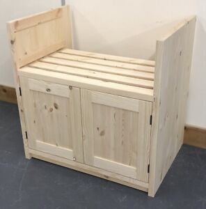 Pine Traditional Style 2 Door Belfast Kitchen Base Unit 800mm wide