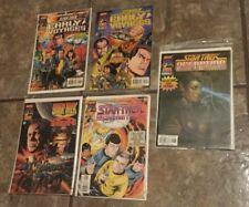 5 Marvel STAR TREK Comic Book Operation Assimilaton Early Voyages Unlimited XMen