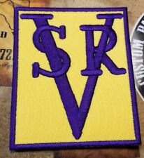 SRV Stevie Ray Vaughan patch