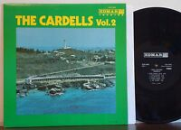 "THE CARDELLS Vol. 2 ""Soul Calypso"" RARE EXC 1971 EDMAR STR LP Bermuda STEEL PAN"