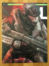 HALO: REACH Pin-Up Xbox 360 2010 Vintage Poster Ad Art Print Promo Noble Rare
