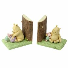 Winnie the Pooh Piglet Bookends Kids Bedroom Childrens Book End Baby Shower Gift