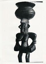 Art Nègre c. 1935 - Sculpture Totem Masque Afrique - P 399