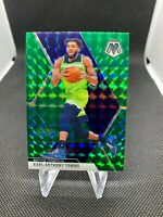 Karl Anthony Towns 2019-20 Panini Mosaic Green Prizm #83 Minnesota Timberwolves