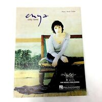 Enya Only Time Sheet Music EMI Piano Vocal Guitar 2000
