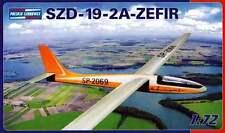 SZD 19-2A ZEFIR ( ZEPHYR ) SAILPLANE/GLIDER 1/72 PZW (pzl)