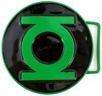 Web Belt Buckle Mens Women Kids DC Comics Green Lantern WGL004