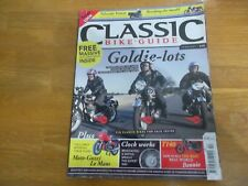 CLASSIC BIKE MAGAZINE CBG 238 MOTO GUZZI LE MANS GOLDIES T140 SMITHS SPEEDO WORK