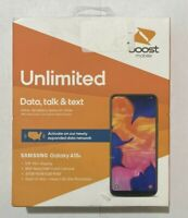 "NEW BOOST MOBILE PREPAID Samsung Galaxy A10e 32GB 5.8"" HD+ DISPLAY Smartphone"