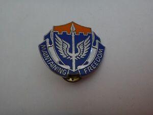 États-Unis Armée Unité Crest 137th Aviation Maintien Freedom Distinctif Insignes