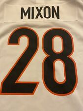 New listing Cincinnati Bengals Nike Game Jersey Joe Mixon Size Large New With Tags 2021