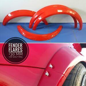 Fender Flares +30mm VW Golf 5 MK5 R32 GTI