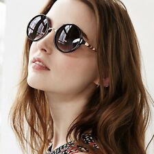 3952559ecc3 New Urban Outfitters Both Worlds Black Gold Retro Round