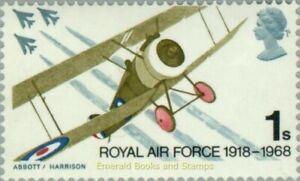 EBS Great Britain 1968 - 50th anniversary Royal Air Force RAF - SG 769 MNH**