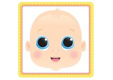 STICK PIN THE DUMMY ON THE BABY MULTI PLAYER BABY SHOWER PARTY GAME UNISEX