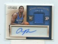 ANDRE ROBERSON 2013-14 Panini Timeless Treasures Acetate Rookie Jersey auto