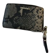 Stella And Dot Snakeskin Purse With Gold Interior. Great Condition