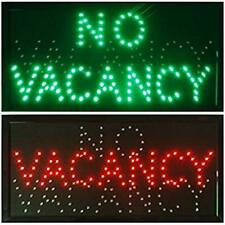 Vacancy/No Neon Signs Hotel Motel Led Store Open Neon Light Room Vacant Switch X