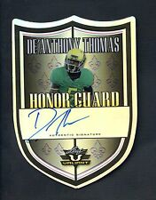 2014 Leaf Valiant Honor Guard Die-Cut De'Anthony Thomas AUTO 5/5