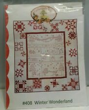Crab Apple Hill #408 Winter Wonderland Quilt Pattern NEW