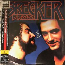 Breacker Brothers-Don't Stop The Music-New-Cardboard Sleeve-Japan