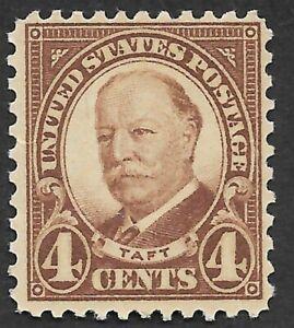 Mr B's US Stamp #685 1922 MNH OG -  William Taft  - 4 Cents - FREE SHIPPING