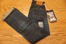 NWT MEN'S PRPS GOOD & CO. JEANS Size 28 Demon Slim Fit Mid Rise Selvedge $190