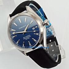 Corgeut WristWatch Miyota 821A Movement Mens Sapphire crystal Automatic watch