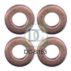 4 x Diesel Injector Washer Seals for Ford Transit Ford Ranger 2.2 TDCI Siemens