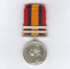 QSA Medal to 2851 Serjeant A. T. Dean, South African Light Horse