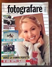 FOTOGRAFARE 12 1999 VOIGTLANDER BESSA-L CANON EOS 1 HENRI CARTIER BRESSON ALTA F