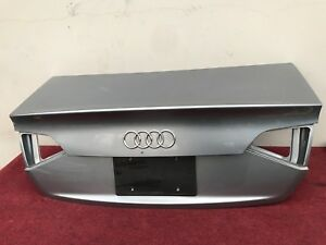 AUDI A4 S4 B8 QUATTRO TRUNK LID PANEL SHELL ASSEMBLY OEM
