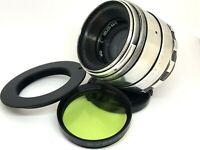 HELIOS 44-2 58mm f/2 USSR Lens M42 + Adapt. Canon EOS EF Mount Camera 800D 77D