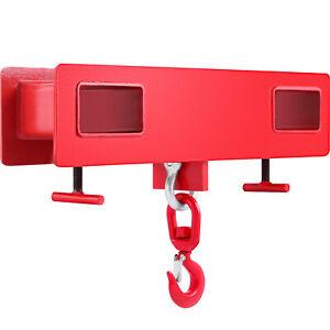 VEVOR 2T 4400LBS Forklift Lifting Hook Tine Hook Mobile Crane High Quality
