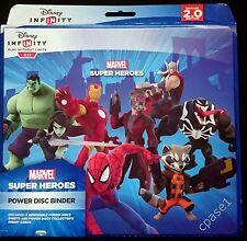 BNIB Disney Infinity 2.0 Marvel - Power Disc Storage / Album / Portfolio - pdp