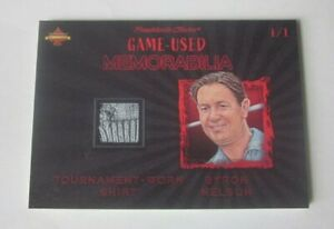2020 President Choice Solitaire Byron Nelson Game Used Tournament Worn Shirt 1/1