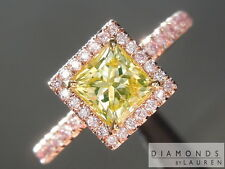 .78ct Natural Green Radiant Cut Diamond Ring GIA R5085  Diamonds by Lauren